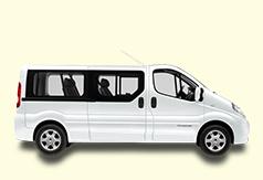 Location minibus 7 places