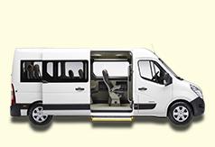 Location minibus 9 places